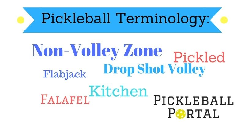 Pickleball lingo