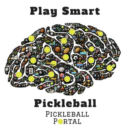 picture of brain full of pickleballs
