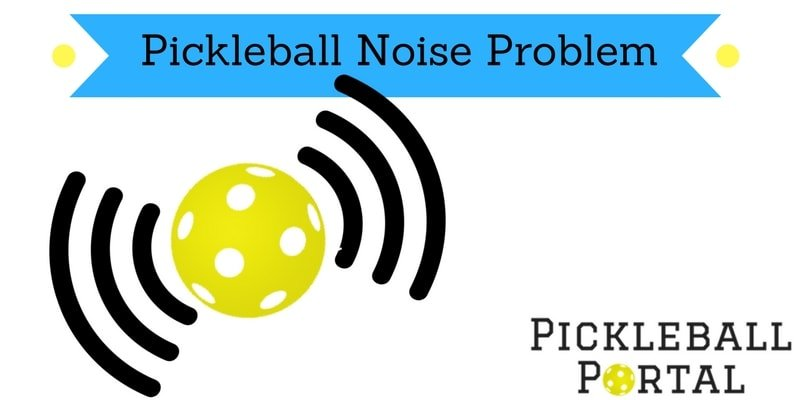 Reducing Pickleball noise