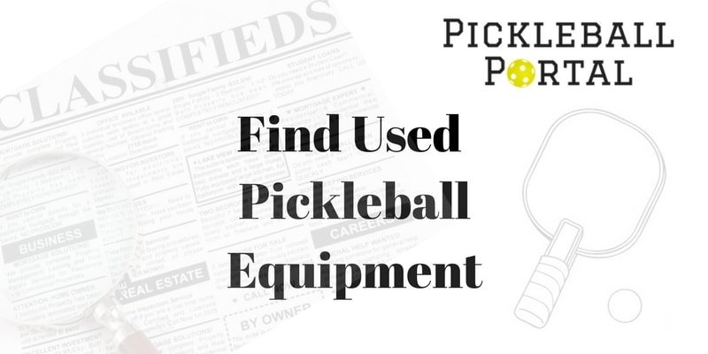 find used pickleball equipment near me