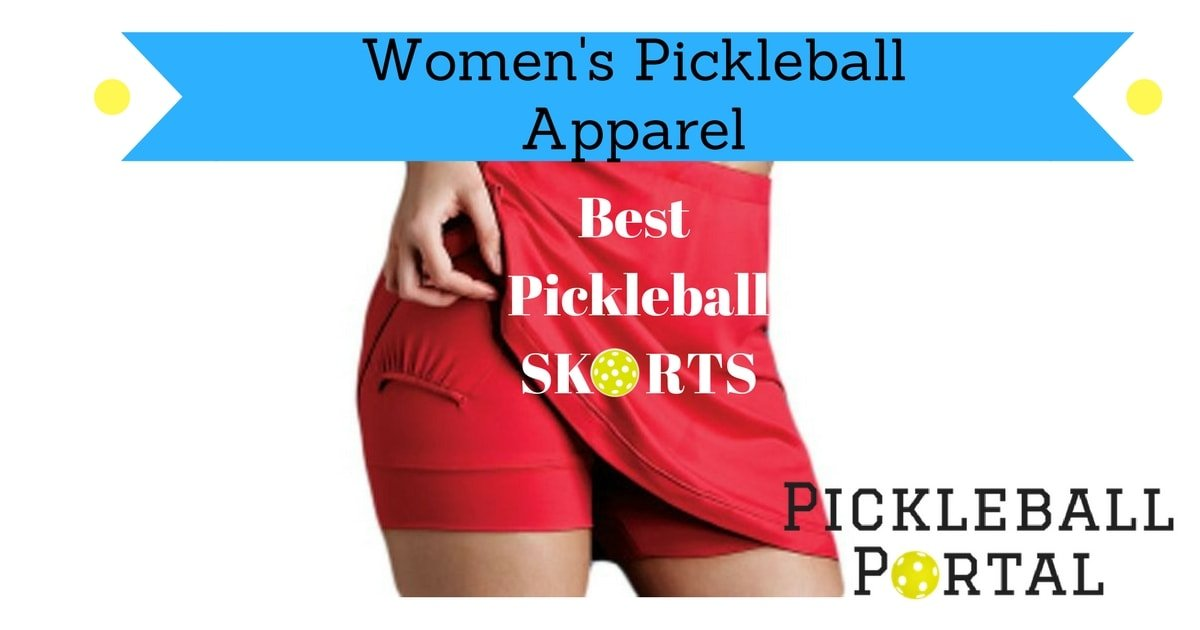 Tennis skorts for pickleball