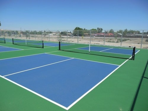 pickleball court