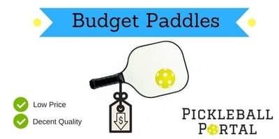 cheap pickleball paddles