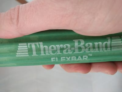 Theraband Flexbar Review | Does This Rubber Bar Fix Tennis Elbow?