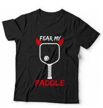 Pickleball T-shirt pickleball paddle design
