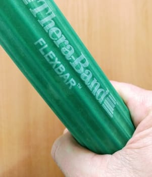 gripping the green flexbar