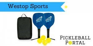 Wood Pickleball Paddle by Westop Sports Review [Set With Pickleballs]