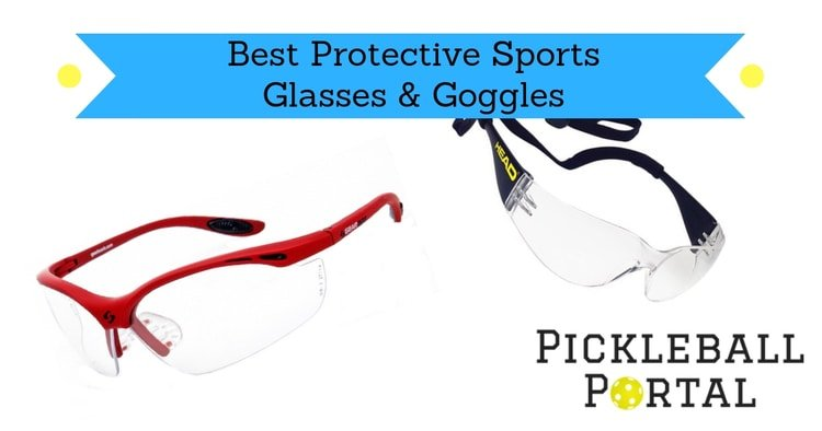 protective sports glasses by head and gearbox