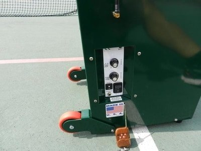 wheels on simon 2 pickleball machine