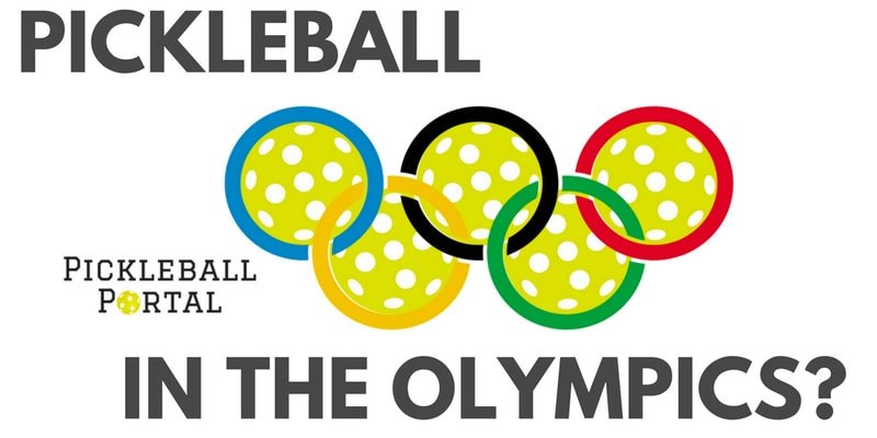 pickleballs with olympic rings